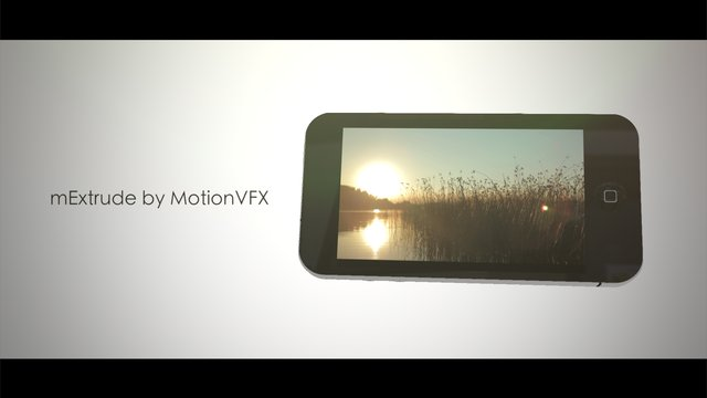 mExtrude for Motion 5 and FCPX – iPhone Test