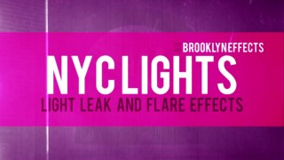 NYC Lights™ for Final Cut Pro X™ from Brooklyn Effects™