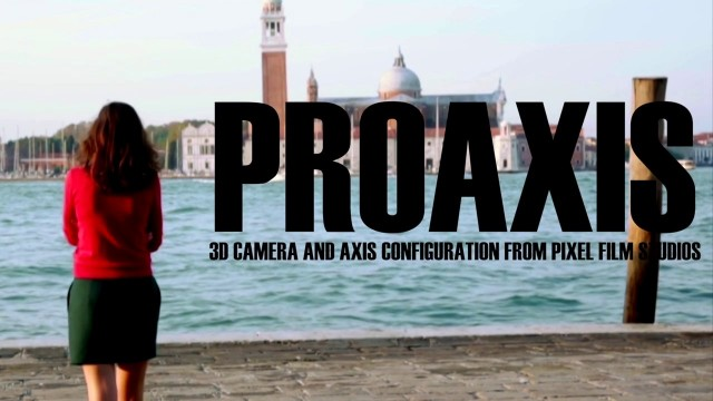 PROAXIS™ – PROFESSIONAL 3D CAMERA CONTROLS FOR FCPX