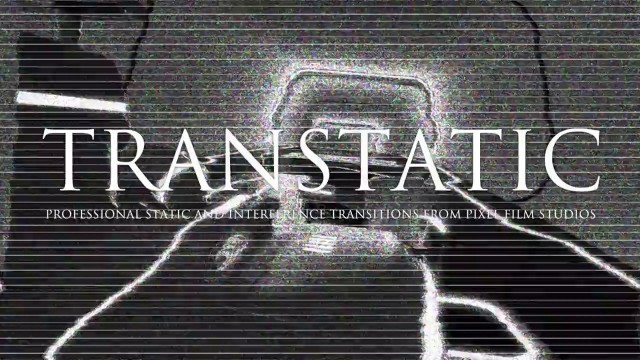 TRANSTATIC – Professional TV Static Transitions for Final Cut Pro X