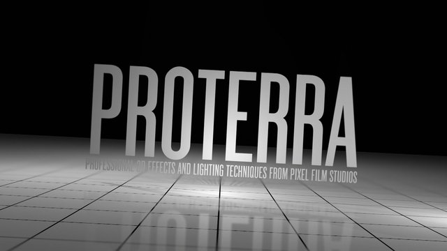PROTERRA™ – Professional 3d Environments, Text and Lighting for Final Cut Pro X