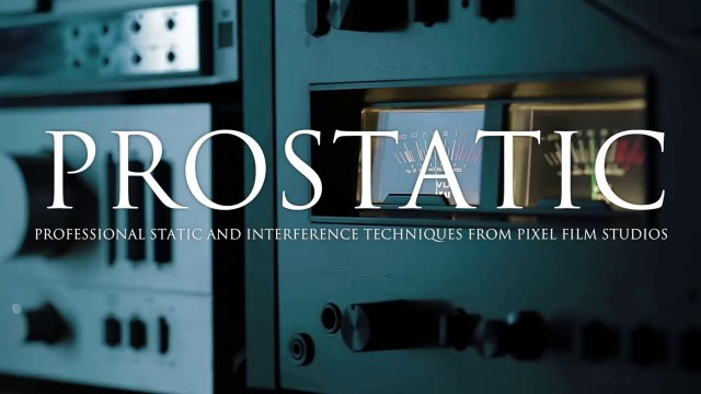 PROSTATIC – Professional Static Effects Plugin for Final Cut Pro X