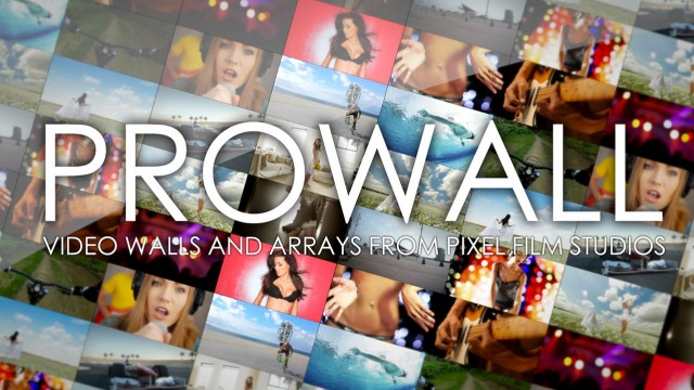 PROWALL™ – Professional Video Walls and Arrays for Final Cut Pro X