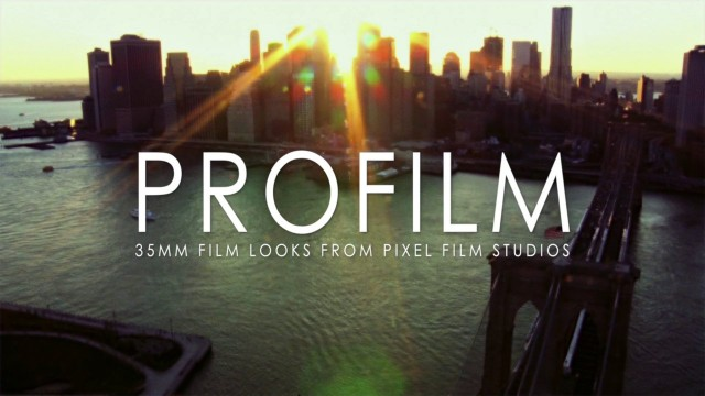 PROFILM™ – FCPX Plugins and Effects