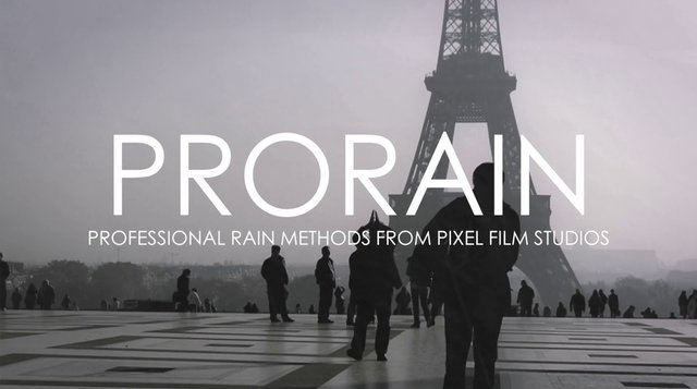 PRORAIN™ – Final Cut Pro X Plugins and Effects