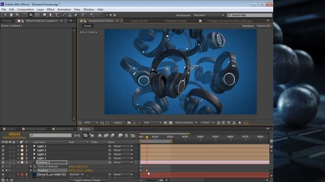 Element 3D Demonstration