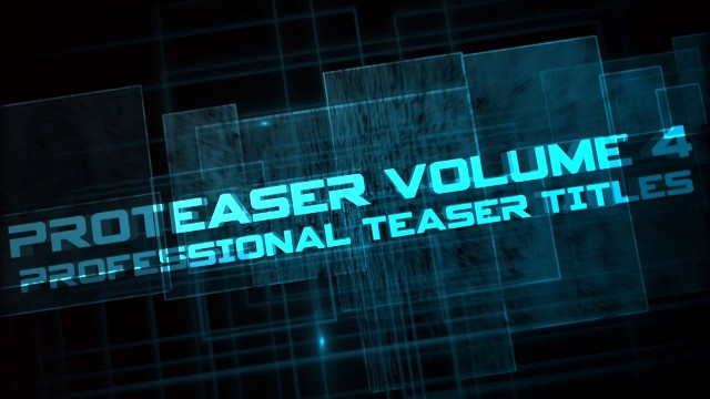PROTEASER VOLUME 4 – FINAL CUT PRO X TEASER TRAILERS – PIXEL FILM STUDIOS