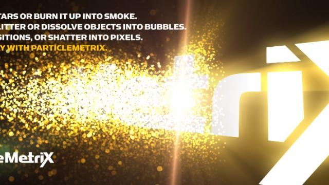 ParticleMetrix plugin for FCPX, Final Cut Pro 7, Motion, FCE, Adobe Premiere Pro & After Effects