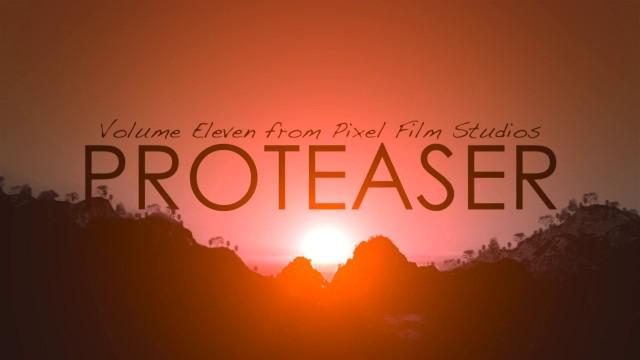 PROTEASER VOLUME 11 – PROFESSIONAL TEASER TRAILER TITLES FOR FCPX – PIXEL FILM STUDIOS