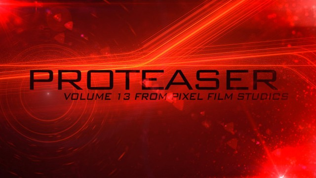 PROTEASER VOLUME 13 – TEASER TRAILER TITLES FOR FINAL CUT PRO X – PIXEL FILM STUDIOS