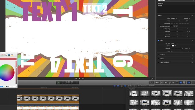 PROTYPO™ – PROFESSIONAL KINETIC TEXT FOR FCPX – PIXEL FILM STUDIOS