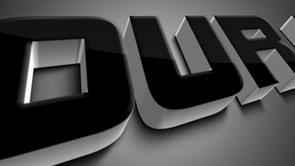 Black Bevel 3D Logo