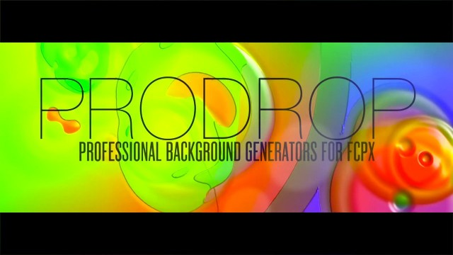 PRODROP – PROFESSIONAL BACKDROPS FOR FCPX – PIXEL FILM STUDIOS
