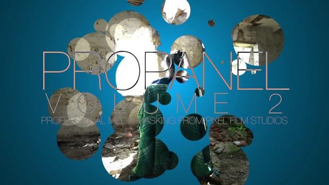 PROPANEL VOLUME 2™ – PROFESSIONAL MEDIA MASKING FROM PIXEL FILM STUDIOS