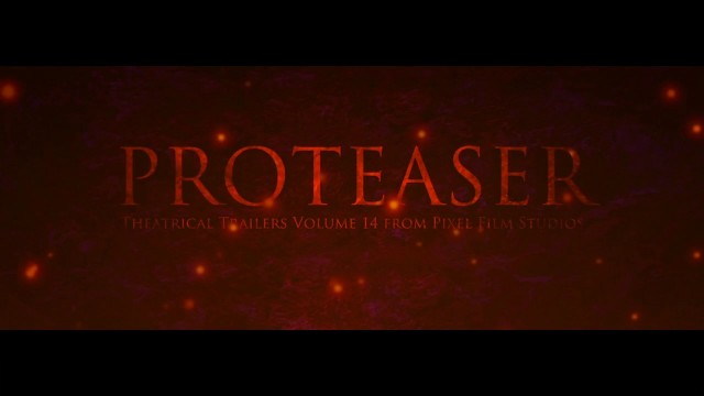 PROTEASER™ VOLUME 14 – PROFESSIONAL TEASER TRAILER TITLES FOR FCPX – PIXEL FILM STUDIOS