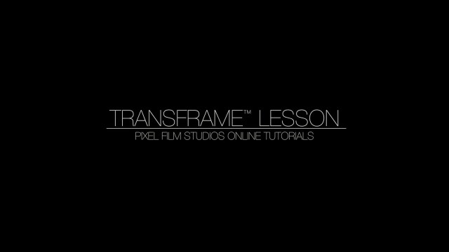 TRANSFRAME™ Lesson – Keyframe-less Camera Path Transitions FCPX – Pixel Film Studios Tutorials