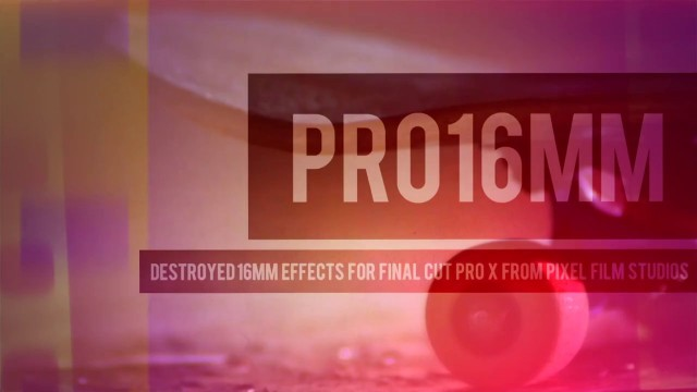 PRO16MM – PROFESSIONAL DAMAGE FILM EFFECTS – PIXEL FILM STUDIOS