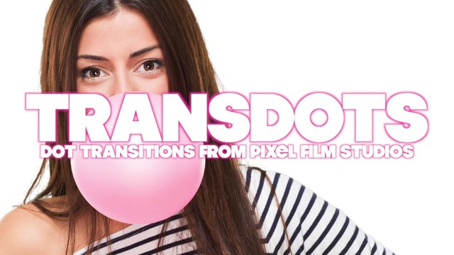 TRANSDOTS™ PROFESSIONAL DOT TRANSITIONS FOR FINAL CUT PRO X