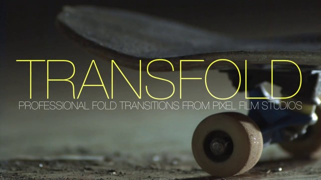 TRANSFOLD™ – PROFESSIONAL FOLD TRANSITIONS FOR FCPX – PIXEL FILM STUDIOS