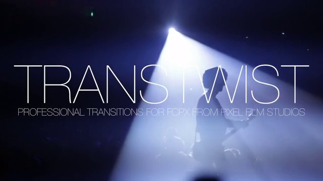 TRANSTWIST™ – PROFESSIONAL TWIST TRANSITIONS FOR FCPX