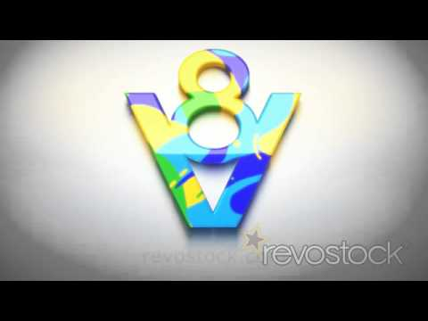 "After Effects Templates from Revostock: ""Blending Logo"" by V8"