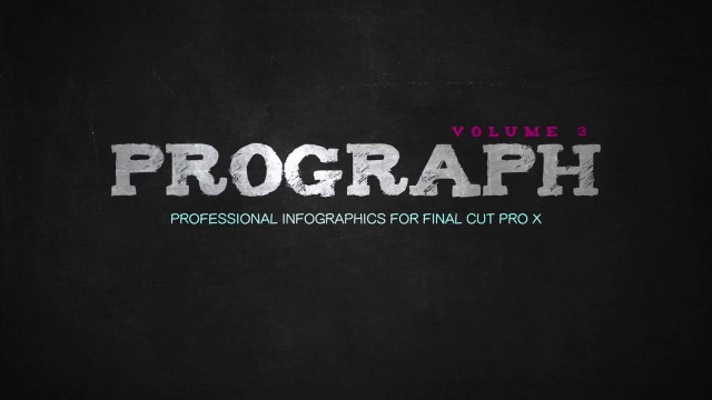 PROGRAPH ™ VOLUME 3 – PROFESSIONAL PRESENTATION ELEMENTS FOR FCPX – PIXEL FILM STUDIOS