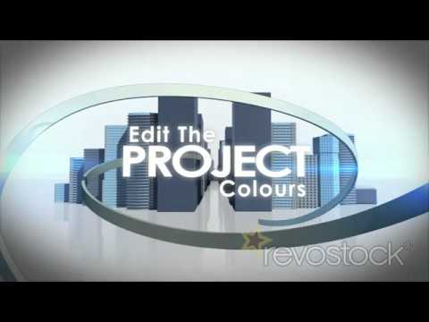 """After Effects Templates from Revostock: """"City Light Flow"""""""
