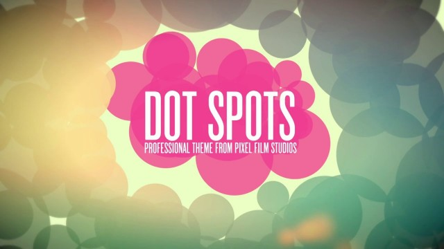 DOT SPOTS – PROFESSIONAL THEME FOR FINAL CUT PRO X – Pixel Film Studios