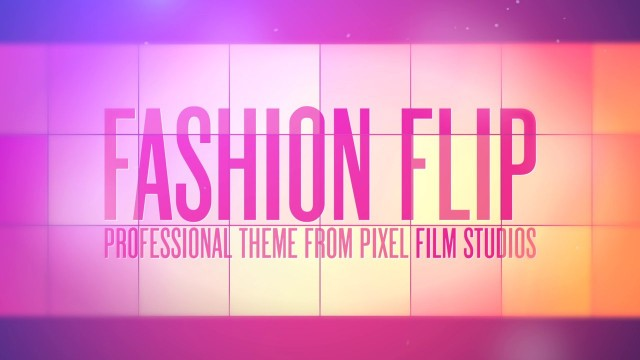 FASHION FLIP™ – PROFESSIONAL THEME FOR FINAL CUT PRO X – Pixel Film Studios