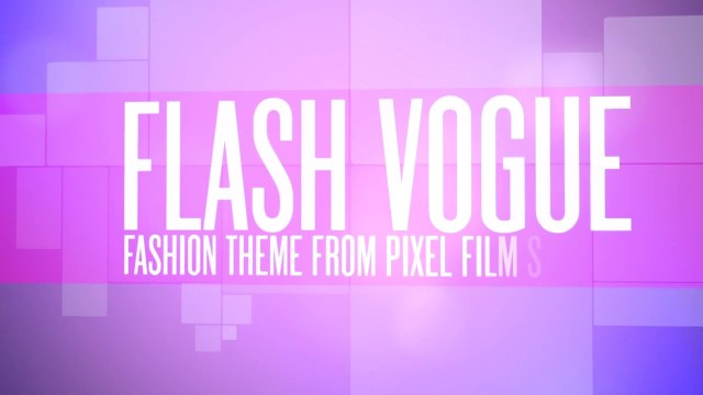 FLASH VOGUE™ – PROFESSIONAL THEME FOR FCPX – Pixel Film Studios