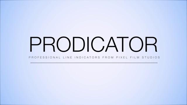 PRODICATOR™ – Professional line indicators for FCPX from Pixel Film Studios