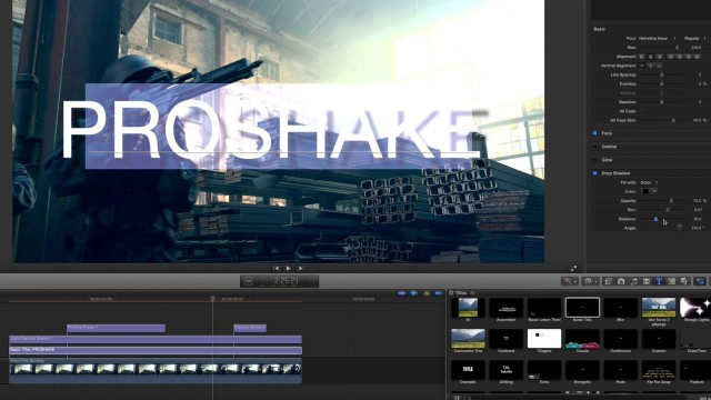 PROSHAKE™ Lesson – Camera Shake Effects for FCPX – Pixel Film Studios Tutorials