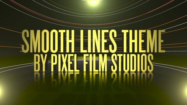SMOOTH LINES THEME PROFESSIONAL STYLIZED THEME FOR FCPX