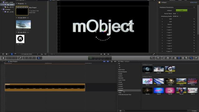 02 mObject Installation