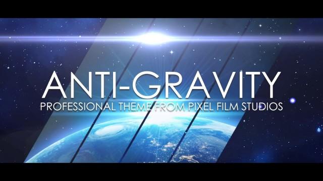 ANTI-GRAVITY – PROFESSIONAL THEME FOR FINAL CUT PRO X – Pixel Film Studios