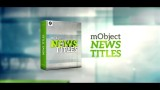 mObject News Titles Pack