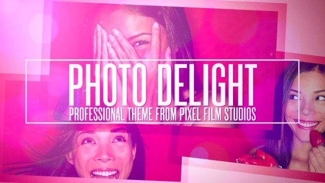 PHOTO DELIGHT – PROFESSIONAL THEME FOR FINAL CUT PRO X – Pixel Film Studios
