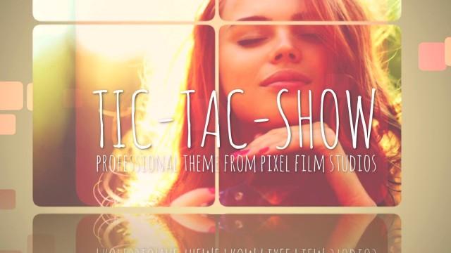 TIC-TAC-SHOW – PROFESSIONAL THEME FOR FINAL CUT PRO X – Pixel Film Studios