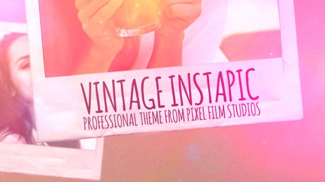 VINTAGE INSTAPIC- PROFESSIONAL THEME FOR FINAL CUT PRO X – Pixel Film Studios