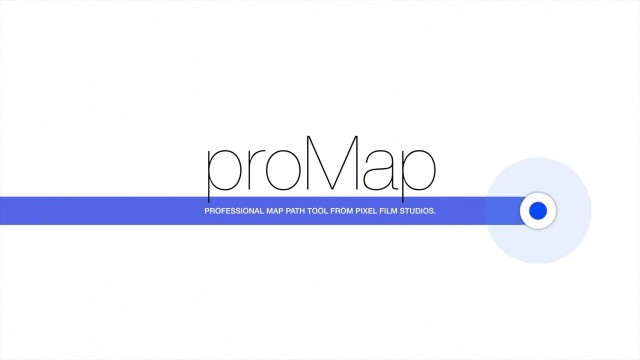 PROMAP™ – PROFESSIONAL MAP PATH TOOL FOR FCPX FROM PIXEL FILM STUDIOS