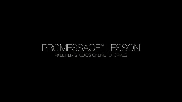 PROMESSAGE LESSON – MESSAGING PLUGIN FOR FINAL CUT PRO X – PIXEL FILM STUDIOS