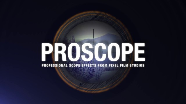 PROSCOPE™ – PROFESSIONAL SCOPE EFFECTS IN FCPX FROM PIXEL FILM STUDIOS