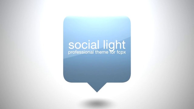 SOCIAL LIGHT – PROFESSIONAL THEME FOR FINAL CUT PRO X – Pixel Film Studios