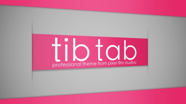 TIB TAB – PROFESSIONAL THEME FOR FINAL CUT PRO X – Pixel Film Studios