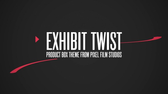 EXHIBIT TWIST – PROFESSIONAL THEME FOR FINAL CUT PRO X – Pixel Film Studios