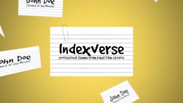 INDEXVERSE – PROFESSIONAL THEME FOR FINAL CUT PRO X – Pixel Film Studios