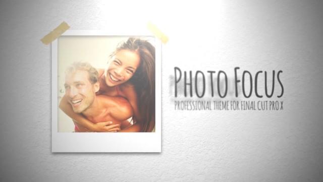 PHOTO FOCUS – PROFESSIONAL THEME FOR FINAL CUT PRO X – Pixel Film Studios