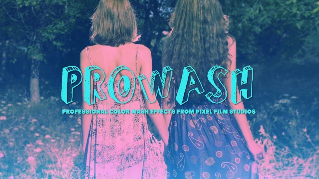 PROWASH™ – PROFESSIONAL COLOR WASH EFFECTS IN FCPX FROM PIXEL FILM STUDIOS