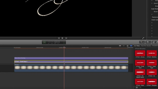 PROWRITE LESSON – WRITE ON TEXT EFFECT FOR FCPX – PIXEL FILM STUDIOS