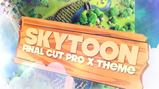 SKYTOON – PROFESSIONAL THEME FOR FINAL CUT PRO X – Pixel Film Studios
